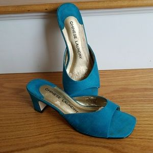 Teal Chinese Laundry Sandal